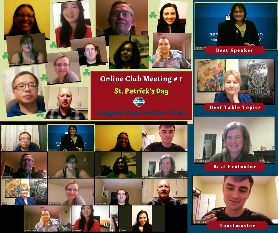 St. Patrick's Day - Online Meeting #1